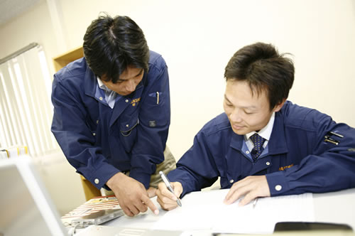 営業部作業3