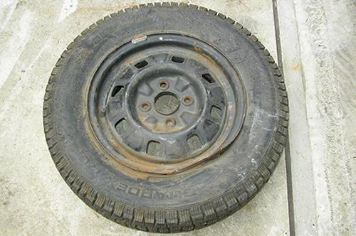 廃タイヤが破砕を主力