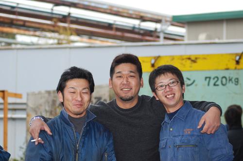 阪神金属最強トリオ