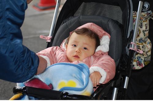 赤ちゃん参加は一人でした。