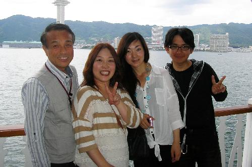 琵琶湖のミシガン号に乗りました!