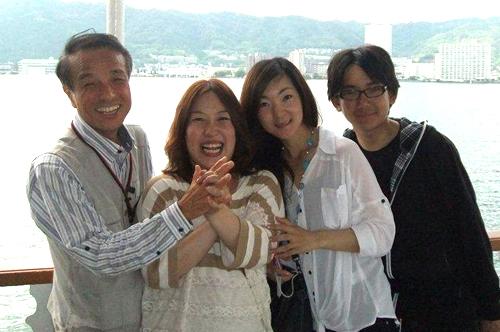 琵琶湖は最高です。