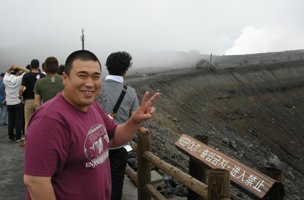 いやー阿蘇山はすごいですな~