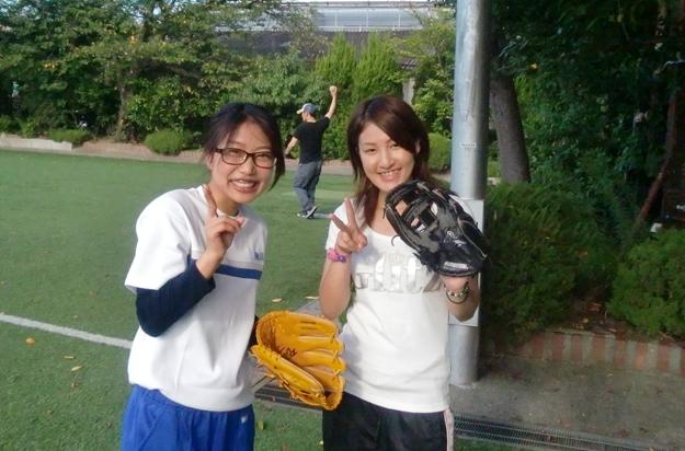 女子ソフトボール部のメンバーです。