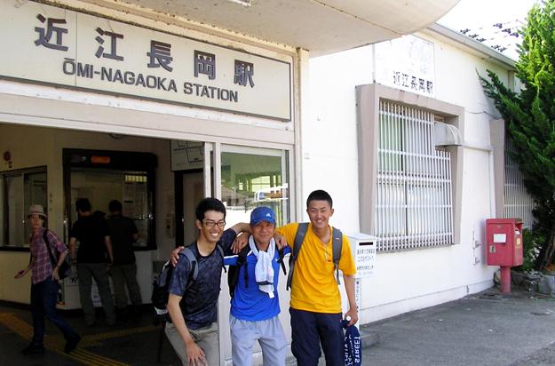 近江長岡駅より登山口へバスが出てます。