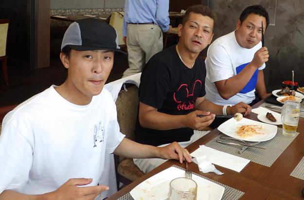 北海道での最初の食事は洋風ランチ。