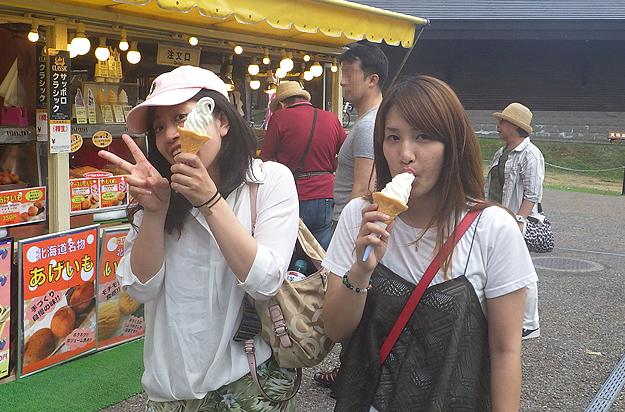 さすが本場のソフトクリームはおいしい!