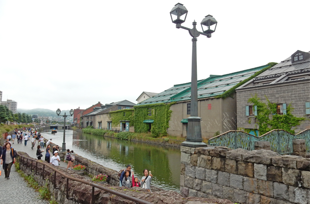 小樽の運河です。