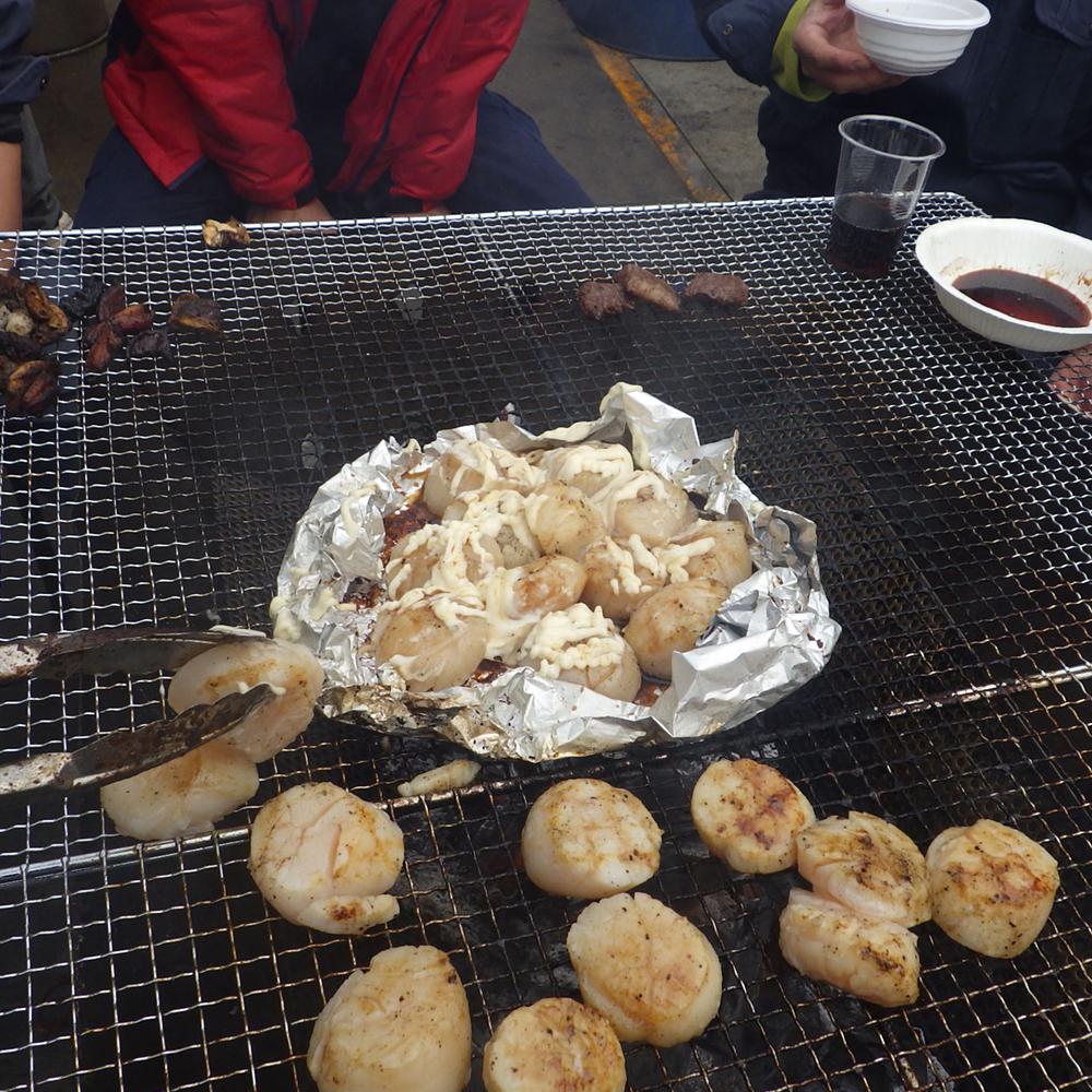 ホタテのマヨネーズ焼き完成です。
