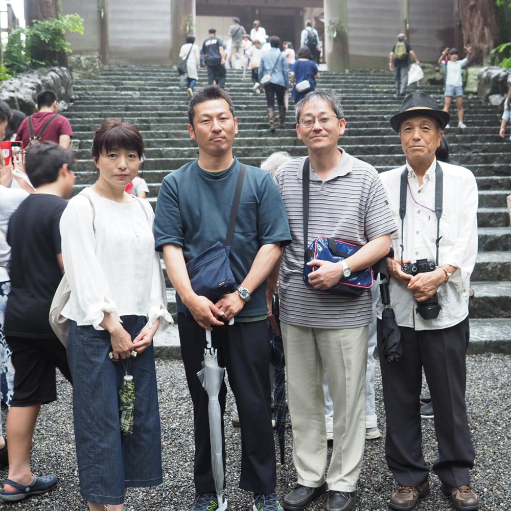 伊勢神宮に参拝してきました。
