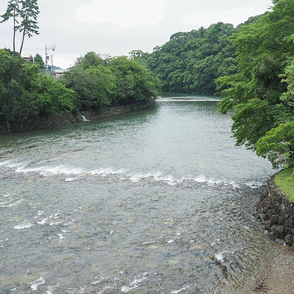 この川はどれだけの歴史を見てきたのだろうか?